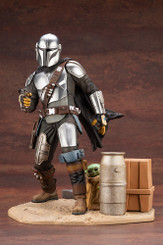 Star Wars Mandalorian & The Child ArtFx Premium Statue