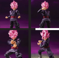 Dragonball Goku Black Rose SH Figuarts Figure