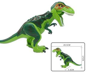 Lego Compatible 12-Inch Tyrannosaurus Rex, Green