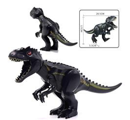 Lego Compatible 12-Inch Tyrannosaurus Rex, Black