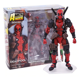Marvel Revoltech Deadpool 6-Inch Action Figure