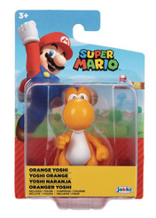 World of Nintendo Orange Yoshi 2.5-Inch Action Figure