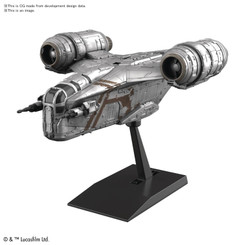Star Wars Mandalorian Razor Crest Silver Coating Model Kit