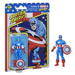 Marvel Retro Collection Captain America 3.75-Inch Action Figure