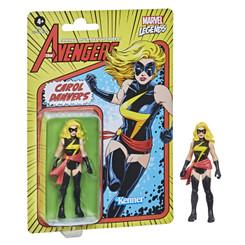 Marvel Retro Collection Ms Marvel (Carol Danvers) 3.75-Inch Action Figure