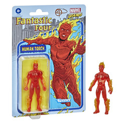 Marvel Retro Collection Human Torch 3.75-Inch Action Figure