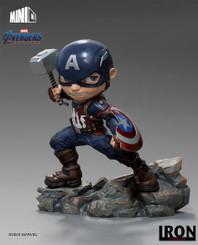 Marvel Iron Studios Captain America MiniCo Premium Statue
