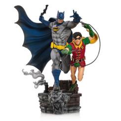 DC Comics Iron Studios Batman & Robin Premium Statue