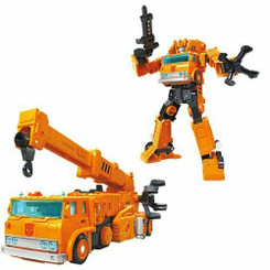 Transformers War for Cybertron Earthrise Voyager Class Autobot Grapple Action Figure