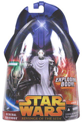 Star Wars ROTS General Grievous with Exploding Body