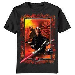 Star Wars T-Shirt: Darth Maul Frame T-shirt