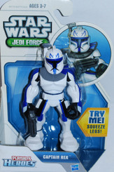 Star Wars Jedi Force Playskool Heroes Captain Rex, Not Mint