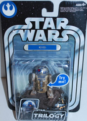 "Star Wars Original Trilogy Collection 4"" R2D2 Degobah Action Figure"