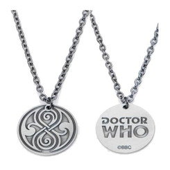 Doctor Who Seal of Rassilon Double-Sided Pendant Necklace