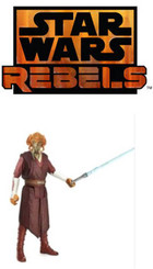 "Star Wars Rebel Saga Legends Plo Koon 3.75"" Action Figure"