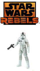 "Star Wars Rebel Saga Legends AT-AT Driver 3.75"" Action Figure"
