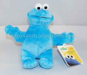 Sesame Street Beanbag Pals: Cookie Monster 6-Inch Plush