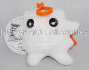 Giant Microbes White Blood Cell Plush Keychain