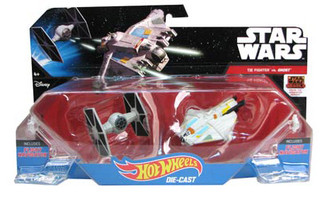 Star Wars Hot Wheels Starship 2-Pack: Ghost Fighter-TIE Fighter