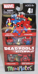 Marvel Minimates Deadpool Assembly Box Set
