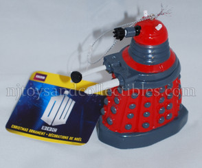 Doctor Who Holiday Ornament: Red Drone Dalek