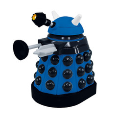 Doctor Who 6.5-Inch Vinyl Action Figure: Paradigm Dalek Blue Strategist, Opened