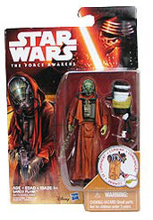 Star Wars Episode 7 3.75-Inch  Snow and Desert Action Figure Wave 2: Sarco Plank