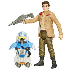 Star Wars Episode 7 3.75-Inch Armor Series Wave 1: Poe Dameron (Pilot) Action Figure