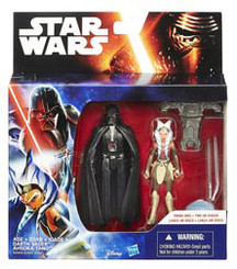 Star Wars Episode 7 Mission Series 2-Pack Wave 2: Darth Vader and Ahsoka Tano