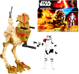 Star Wars Episode 7 Exclusive Vehicle: Desert Assault Walker with Stormtrooper Officer