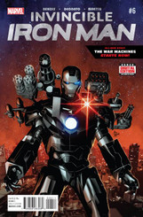 Comic Book: Invincible Iron Man #6