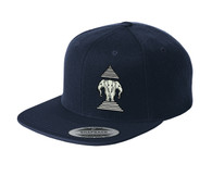 Xang Saam Hua Hat - Navy Blue