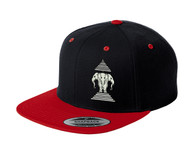 Xang Saam Hua Hat - Black & Red