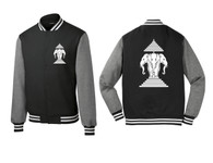Xang Saam Hua Letterman Fleece - Black
