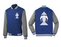 Xang Saam Hua Letterman Fleece - Blue
