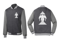 Xang Saam Hua Letterman Fleece - Vintage Grey