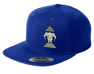 Xang Saam Hua Hat - Royal Blue