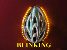 Original Blinking Lid Lights - Yellow - 18 LED's per Strip