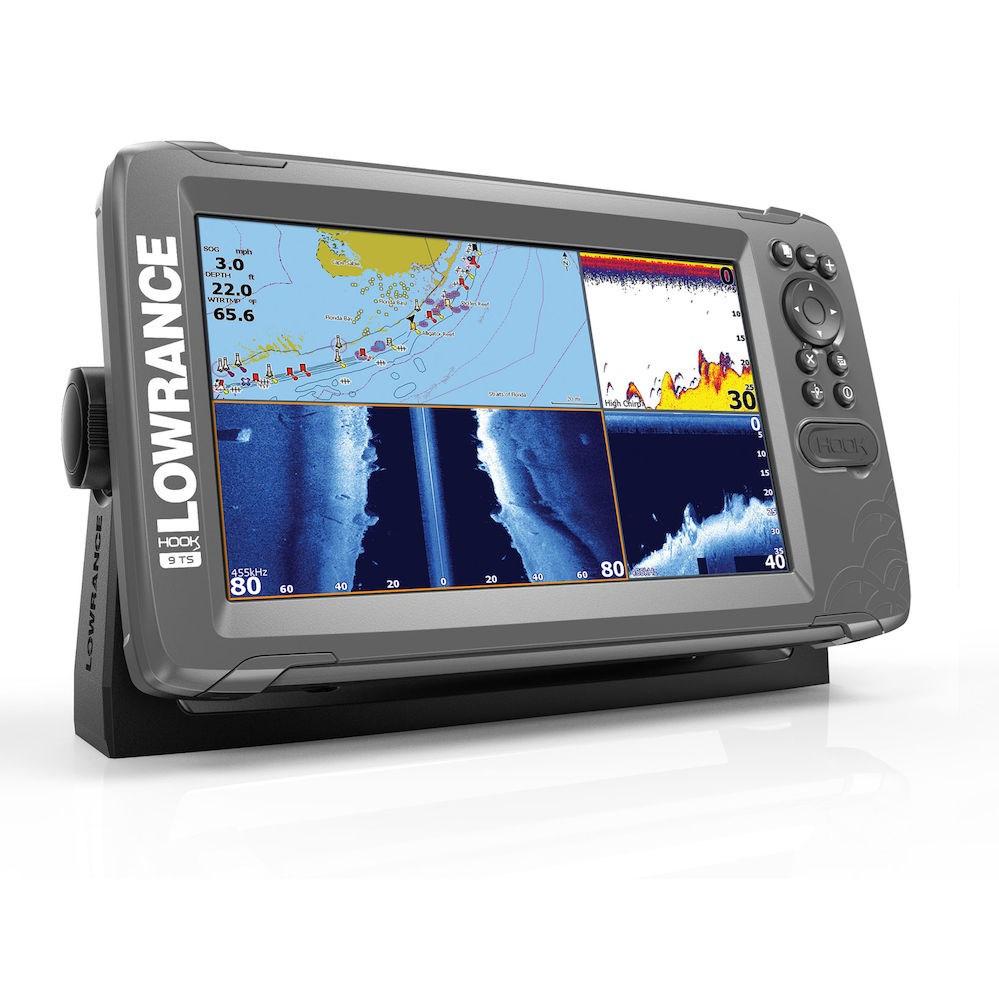 Lowrance Depth Finder >> Lowrance Hook2 9 Fish Finder With Tripleshot Transducer