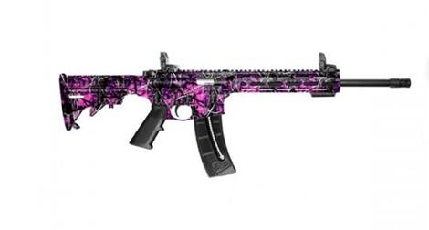 "Smith & Wesson M&P15-22 Muddy Girl M-LOK 16.5"" Barrel, 25 Round Magazine"
