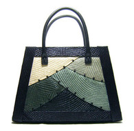 Fatima Hand Woven Buntal Handbag
