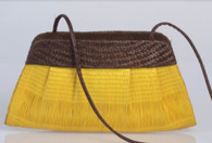 Lori Yellow Petite Handwoven Bag