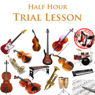 Music Trial Lesson Half Hour