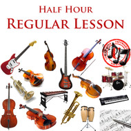 Music Regular Lesson Half Hour