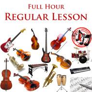 Music Regular Lesson Full Hour