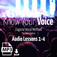 Know Your Voice - Audio Lessons 1-4
