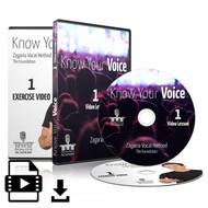 Know Your Voice - Part 1 (Lesson 1, Exercise 1)
