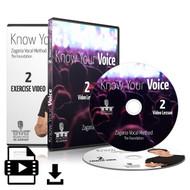 Know Your Voice - Part 2 (Lesson 2, Exercise 2)