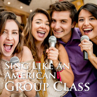 Sing Like an American - One month of 4 one-hour group classes