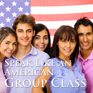 Speak Like an American - One month of 4 one-hour group classes